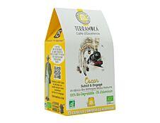 Terramoka Sir Oscar - 15 capsules de café type Nespresso - arabica