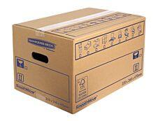 Bankers Box SmoothMove - 10 cartons déménagement 39L - Fellowes