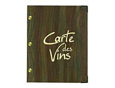 Bequet - Carte des vins - 23,5 x 18,5 cm
