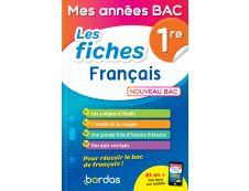 Mes années BAC - Les fiches français 1re