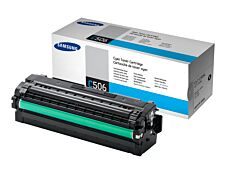 Samsung CLT-C506L - cyan - cartouche laser d'origine