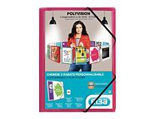 Oxford Polyvision - Chemise personnalisable à rabats - A4 - disponibles dans différentes couleurs translucides