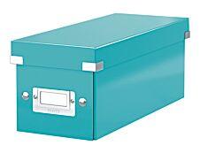 Leitz Click & Store - Boîte de rangement pour CD - bleu iceberg