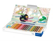 STAEDTLER Buddy - 18 Crayons de couleur - pointe large