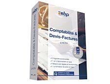 EBP Comptabilité & Devis-Factures ACTIV - abonnement 12 mois