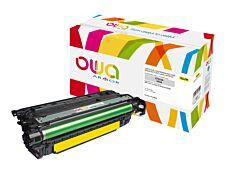 HP 653A - remanufacturé Owa K15736OW - jaune - cartouche laser