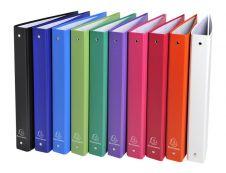 Exacompta - Classeur à anneaux - Dos 40 mm - A4 - pour 225 feuilles - disponible dans différentes couleurs