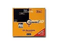 Intenso - 10 CD-R - 700 MB