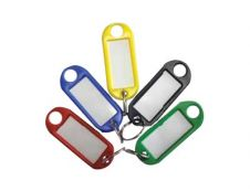 Reskal - 20 Porte-clés - couleurs assorties