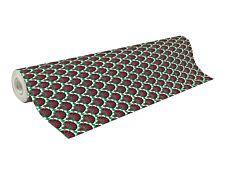 Clairefontaine Excellia - Papier cadeau - 70 cm x 50 m - 80 g/m² - motif plumes Noël