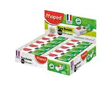 Maped - Pack de 20 gommes fourreau Technic 600 Green