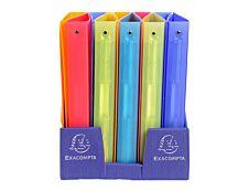 Exacompta Linicolor - Classeur à anneaux - Dos 40 mm - A4 Maxi - pour 225 feuilles - disponible dans différentes couleurs