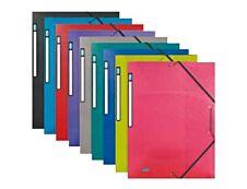 Oxford Osmose - Chemise polypro à rabats - A4 - disponible dans différentes couleurs