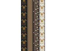 Clairefontaine Kraft - Papier cadeau - 70 cm x 2 m - 70 g/m² - motif dalécarlie noire