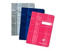 Clairefontaine - Carnet 11 x 15 cm - 96 pages - petits carreaux (5x5 mm) - disponible dans différentes couleurs