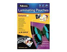 Fellowes - 100 pochettes de plastification A3 (303 x 426 mm) - 80 microns - brillantes