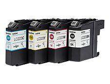Brother LC223 - Pack de 4 - noir, cyan, magenta, jaune - cartouche d'encre originale