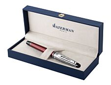 Waterman Expert Deluxe - Stylo plume rouge - pointe fine