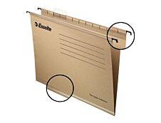 Esselte Pendaflex - 5 Dossiers suspendus pour tiroirs - kraft - fond V