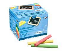Wonday - 100 Craies couleurs assorties - anti poussière