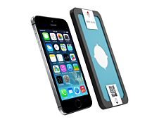 Force Glass - Protection d'écran avec filtre de confidentialité - verre trempé pour iPhone 5/5S/SE