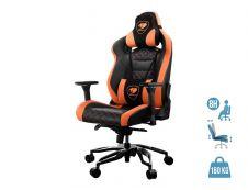 Fauteuil gamer Armor Titan Pro - accoudoirs réglables - appui-tête amovible - Noir et orange