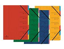 Exacompta Nature Future - Parapheur 7 compartiments - disponible dans différentes couleurs