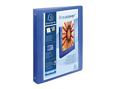 Exacompta Kreacover Chromaline - Classeur à anneaux personnalisable - Dos 40 mm - A4 Maxi - pour 225 feuilles - disponible dans différentes couleurs
