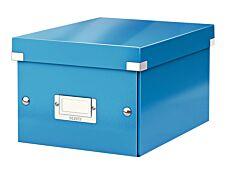 Leitz Click & Store - Boîte de rangement A5 - bleu métallisé