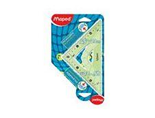 Maped - Équerre plastique 21 cm - 45° - incassable