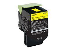 Lexmark 802X - jaune - cartouche laser d'origine