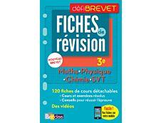 Défibrevet Fiches Sciences 3e + Offert : vos fiches sur votre mobile