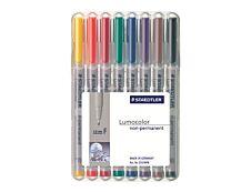 STAEDTLER LUMOCOLOR 316 - Pack de 8 marqueurs non permanents - pointe fine - couleurs assorties