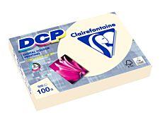 Clairefontaine Trophée - Papier couleur - A4 (210 x 297 mm) - 100 g/m² - 500 feuilles - ivoire