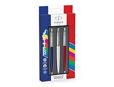 Parker Jotter - Pack de 3 stylos à bille - couleurs assorties