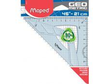 Maped Géométric - Équerre 21 cm - 45°