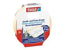"Tesa - Ruban Krepp ""spécial bureau"" - 19 mm x 25 m"