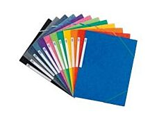 Oxford Top File - Chemise à rabats - A4 - bleu