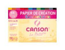 Canson Création - Pochette papier à dessin - 12 feuilles - A4 - 150 gr - couleurs vives