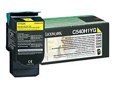 Lexmark C540H1YG - jaune - cartouche laser d'origine