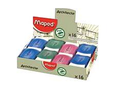 Maped - Pack de 16 gommes Architect