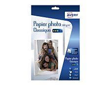 Avery - Papier Photo brillant - A4 - 180 g/m² - impression jet d'encre - 40 feuilles