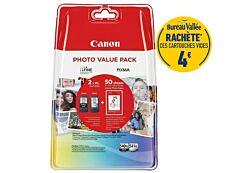 Canon PG-540XL/CL-541XL - pack de 2 - noir, cyan, magenta, jaune - cartouche d'encre originale