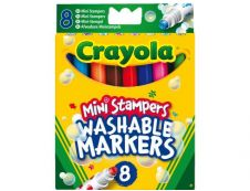 Crayola - 8 Feutres tampons animaux