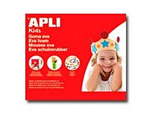 Apli - 1 feuille décor mousse - blanc