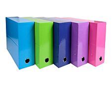 Exacompta Iderama - Boîte de transfert - dos 90 mm - disponible dans différentes couleurs