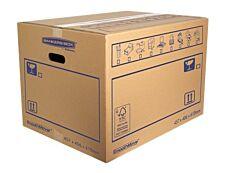 Bankers Box SmoothMove - 10 cartons déménagement 113L - Fellowes