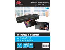 DSB - 100 pochettes de plastification A3 (303 x 426 mm) - 250 microns - brillantes