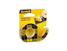 Scotch - Ruban adhésif - 12 mm x 6,3 m - double face