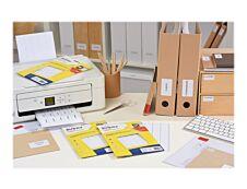 Avery - Etui A5 - 320 Étiquettes multi-usages blanches - 48,5 x 25 mm - réf ETE020